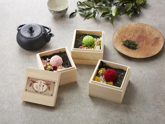 廃棄予定の茶葉をお洒落に活用。見て楽しむ宇治茶葉「茶和花」