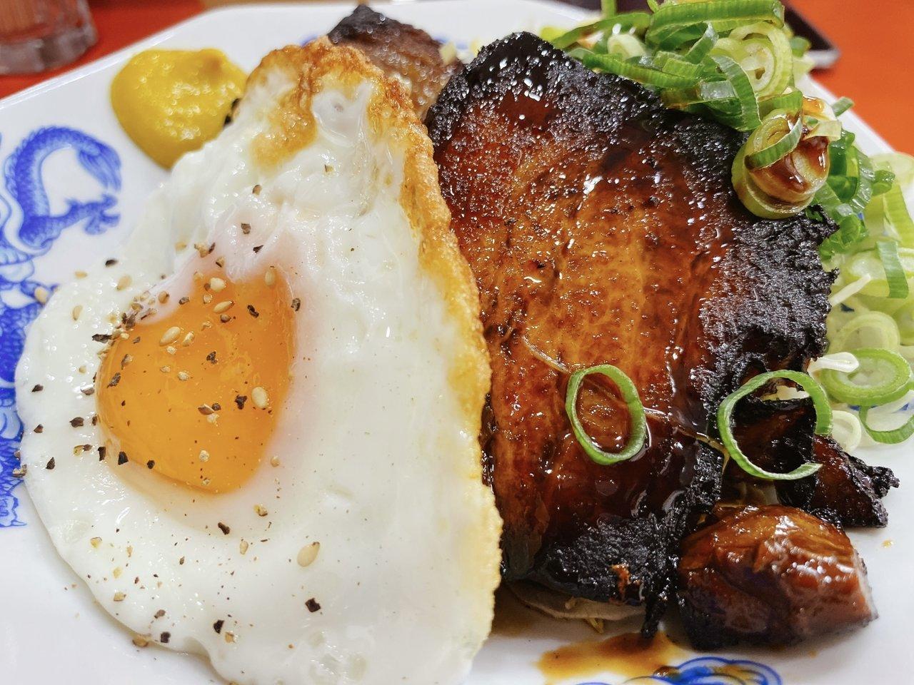 東京ローカルのおいしいごはんがたべたい|チャーシューエッグ