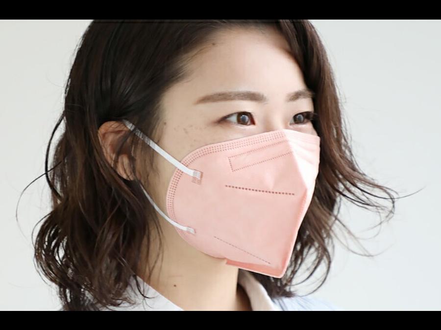 抗菌作用のある酸化銅を使用した「酸化銅マスク」が新登場。2枚で1990円。