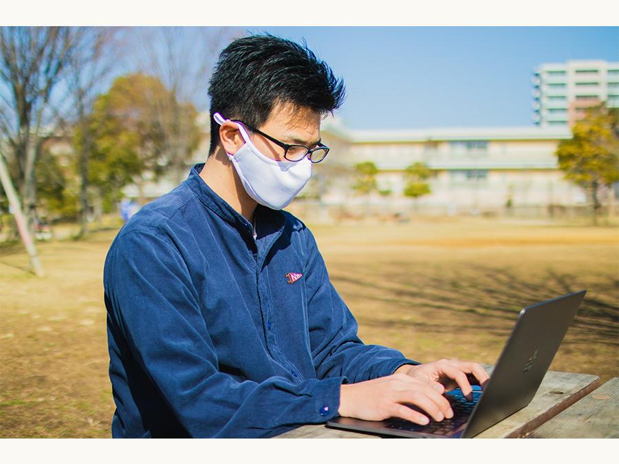 洗える99.9%抗菌の眼鏡が曇らないマスク「IncontroW」に待望の白色登場。