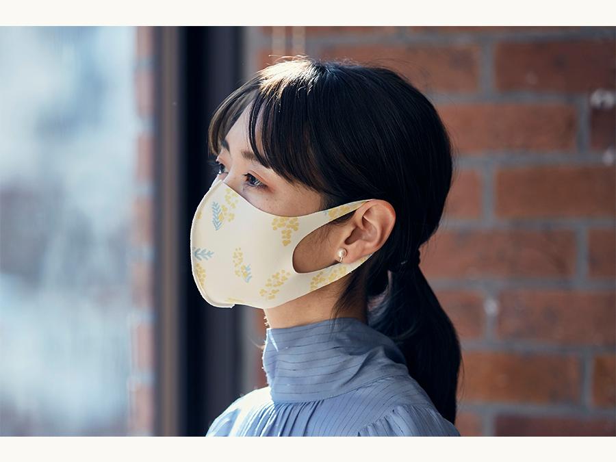 日々の気分に合わせて使えるオシャレなデザインマスク「The