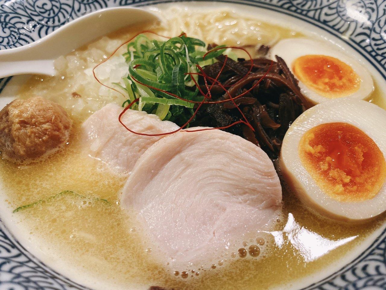 東京ローカルのおいしいラーメンがたべたい|鶏白湯ラーメン