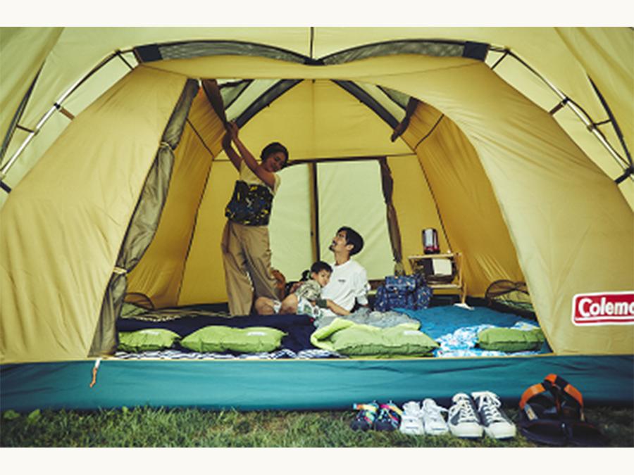 コールマン、これからキャンプを始めるファミリーにおススメな入門編テントを発売です。