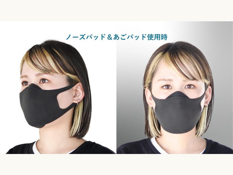 ウレタンマスクと不織布マスクが合体したハイブリッドな