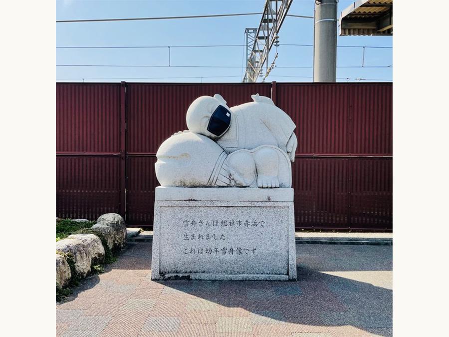 雪舟さんもマスク姿に。総社市がマスクの街になる総社デニムマスクシティプロジェクト。