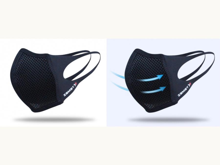 スポーツ用サポーターブランドが作った飛沫対策用マウスカバー「ザムスト