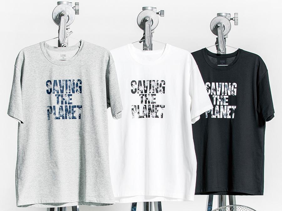 デザイナーのキャサリン・ハムネット氏との共同プロジェクトTシャツの収益金から植樹活動に寄付