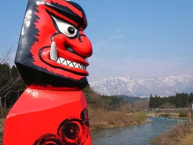 宮城県大崎市にある「鬼首」温泉。何と読む?