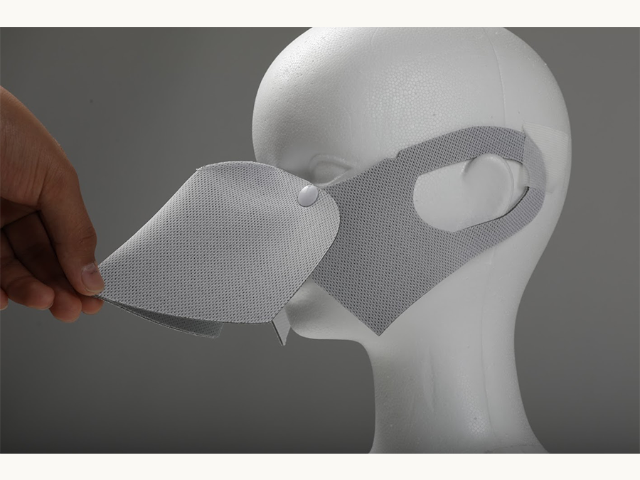 会食できるマスク「ショク(食)マスク」が販売開始!