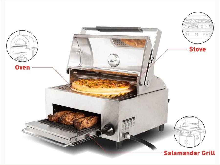 海外で2000台即完売したBBQグリルオーブン器が日本上陸 今こそおうちでアウトドア!