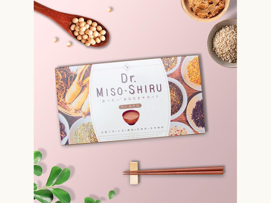 日本人向けの美味しい味噌汁で置き換えダイエット!「Dr.味噌汁」がココカラファインに出品