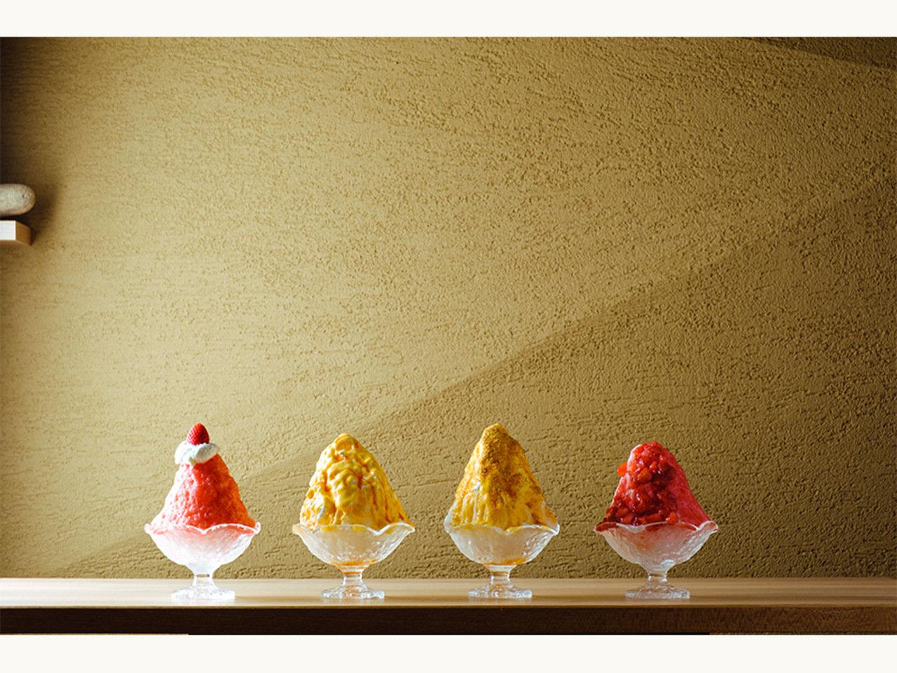 プリン専門店が運営するかき氷専門店「さんかく氷」。鳥取砂丘前にOPEN!