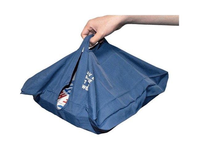 寿司やピザのテイクアウトどうしてた?平たくて大きいモノ専用エコバッグが人気