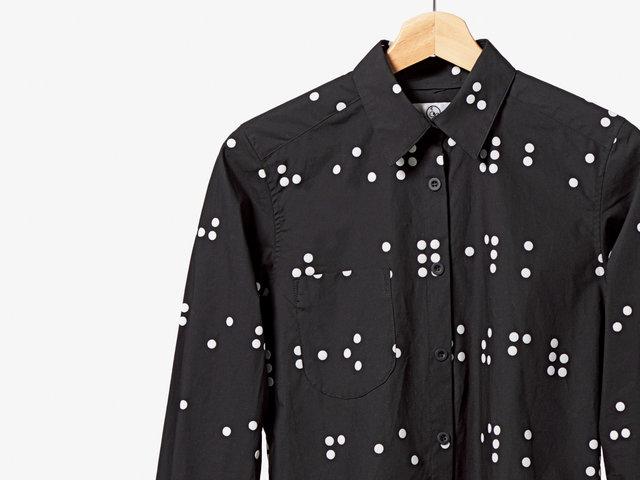 tenbo シャツ 見えない言葉のかっこよさ。