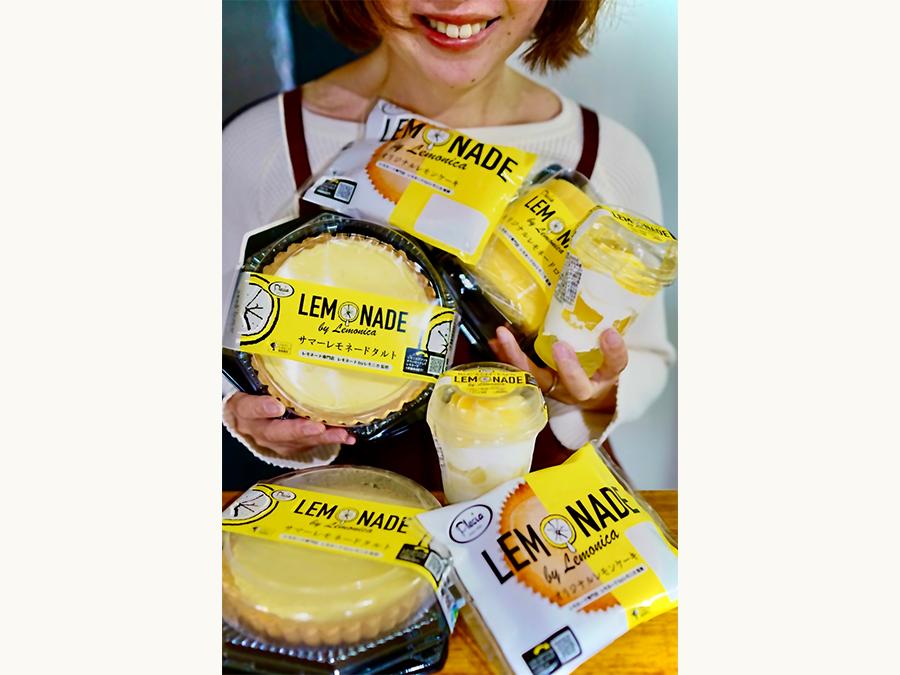レモンの清涼感を楽しむ夏のトレンドスイーツ4商品が同時発売|レモネード
