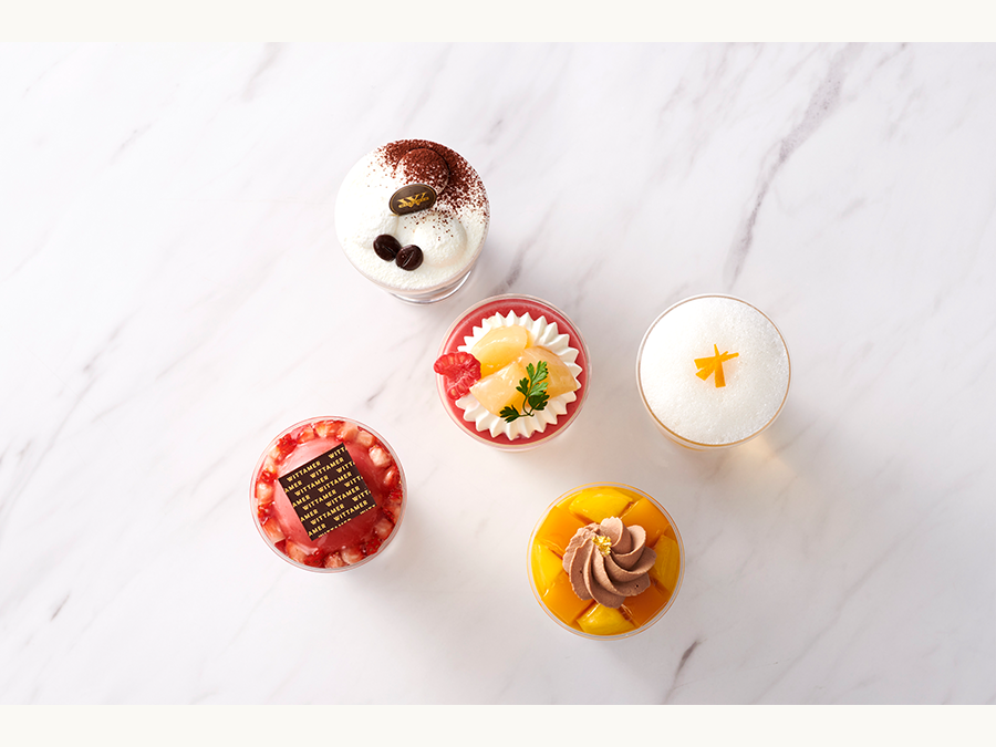 ベルギー王室御用達チョコレートブランド「ヴィタメール」夏の限定グラスデザートを販売