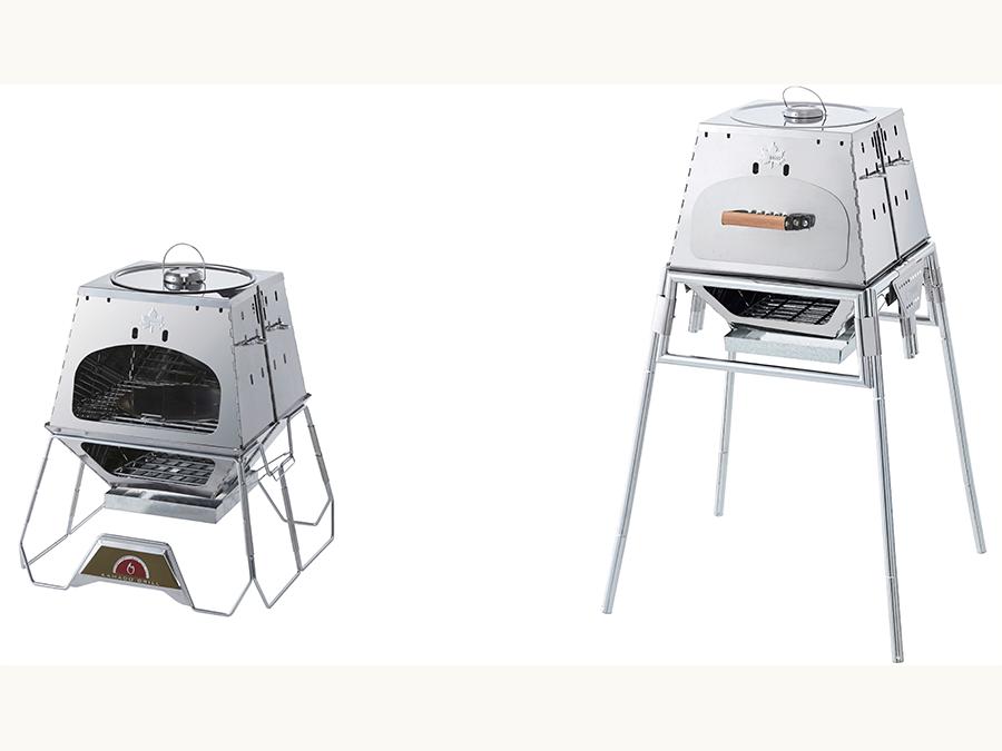 鍋料理とオーブン料理が一度に作れる人気万能グリルに新デザイン「KAMADO