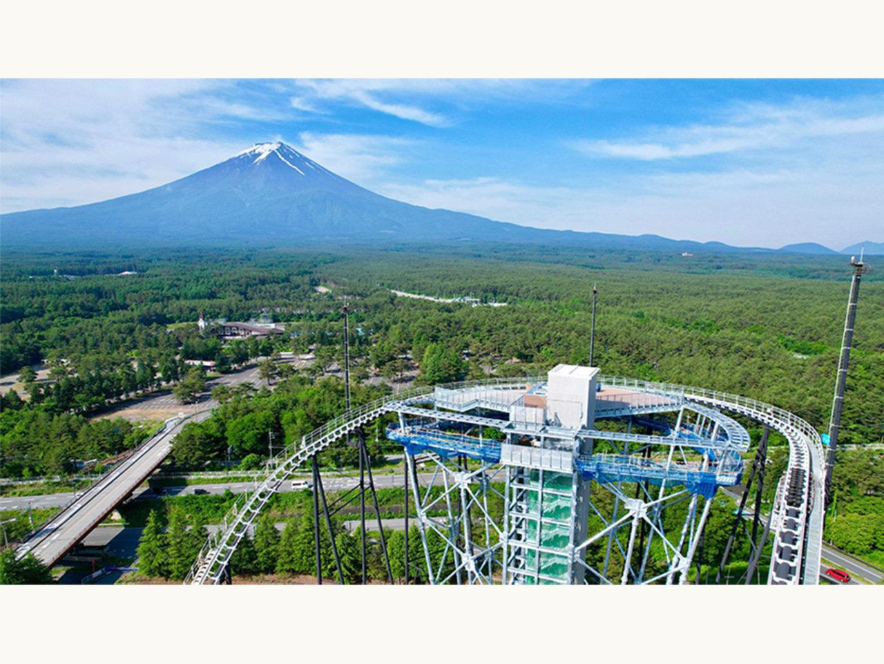 富士山一望の絶景展望台「FUJIYAMAタワー」