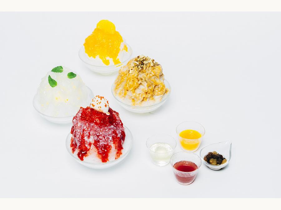 【AKOMEYA食堂】6月24日(木)より、リキュールで楽しむ「大人のかき氷」がスタート!