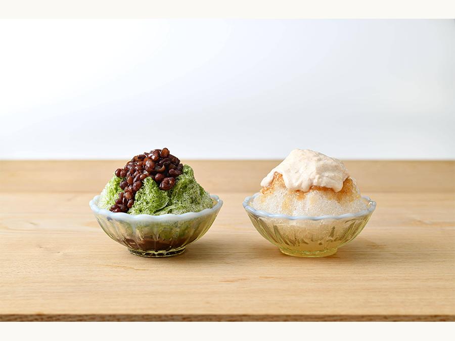 こだわり素材が活きた和菓子屋の「かき氷」が6月21日に発売
