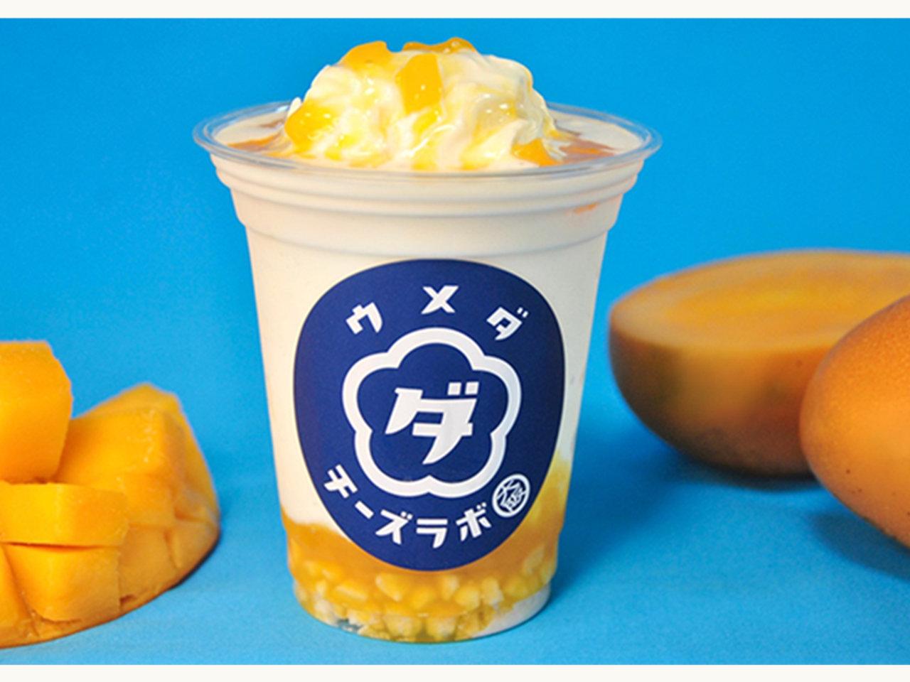 夏の飲めるチーズケーキ「飲めるマンゴーチーズタルト」が期間限定で登場!