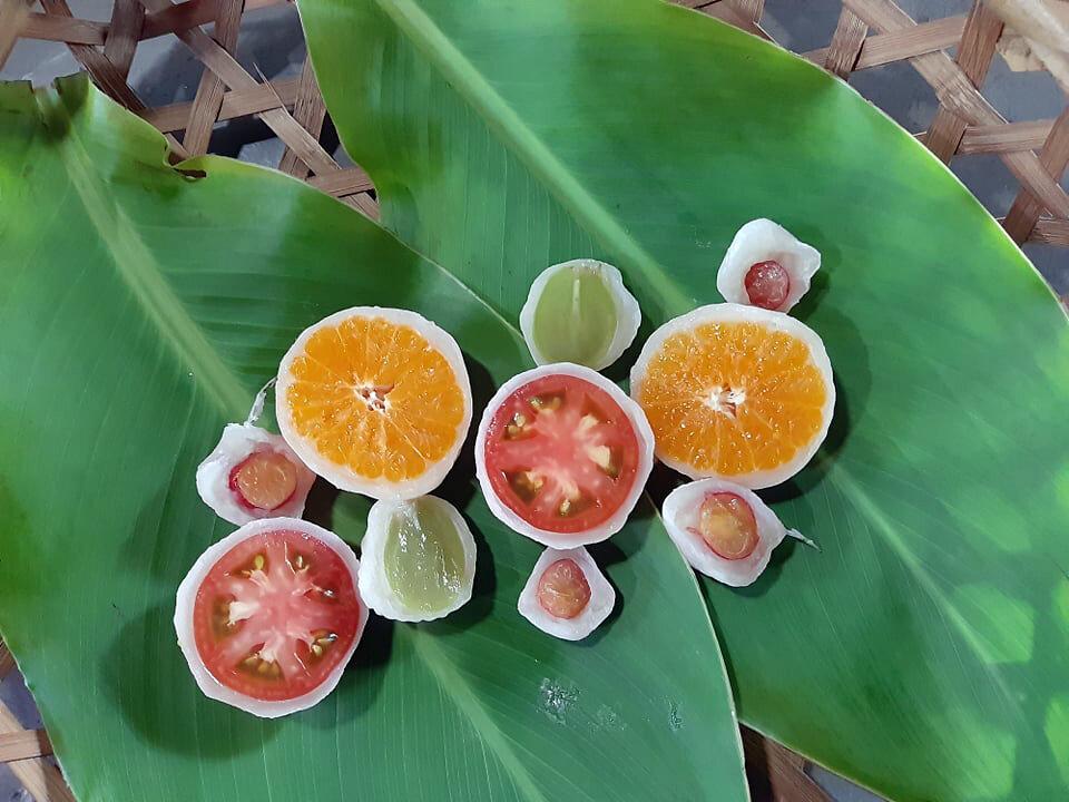 愛でて楽しみ、おいしく味わう季節のご当地大福。地元果物のスイーツを堪能しよう!