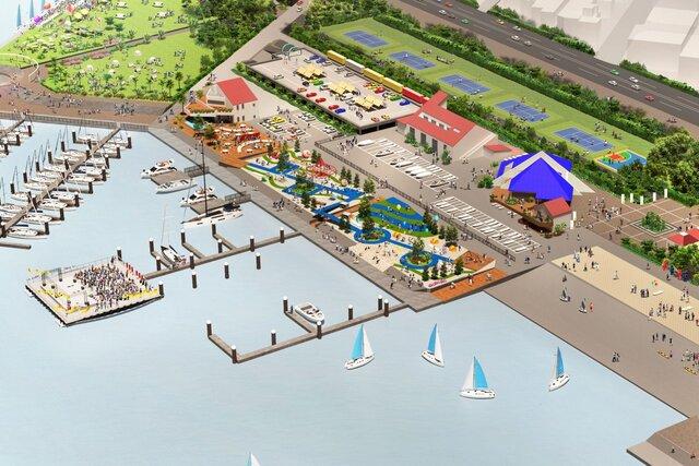 """使われなくなった公園の遊具を募集! 大阪北港マリーナで""""アップサイクル港園""""を新設。"""
