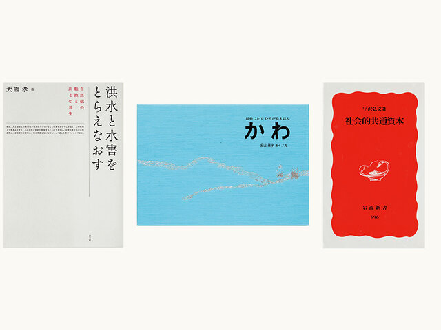 『ランドスケープ・プラス』代表/ランドスケープアーキテクト 平賀達也さんが選ぶ、SDGsと地球環境に触れる本5冊の選書 3〜5