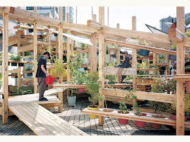 ストリート ガーデン シアター 植物と人間がつくる公共空間の新しい可能性。