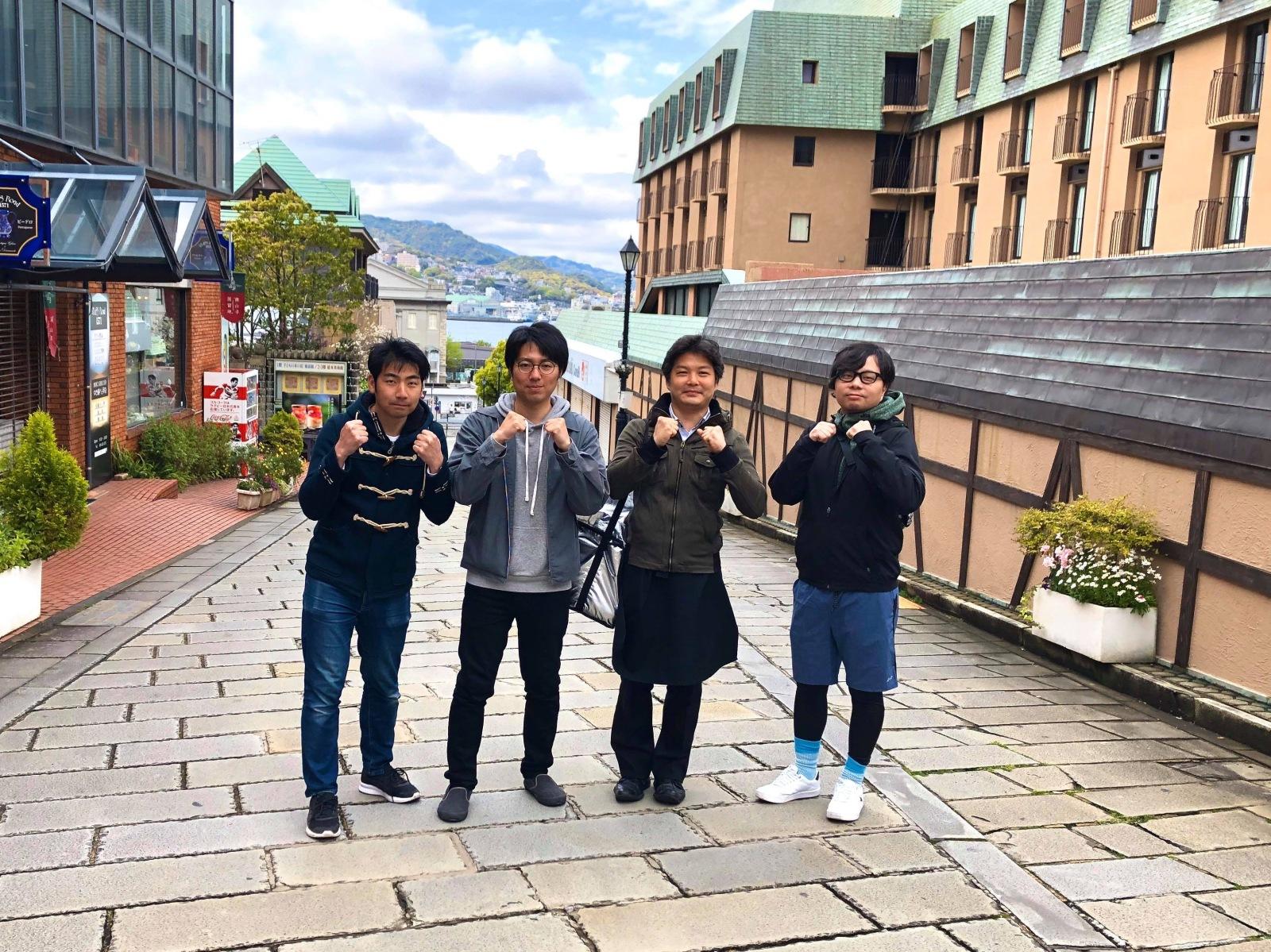 「長崎山手応援隊」のコアメンバー