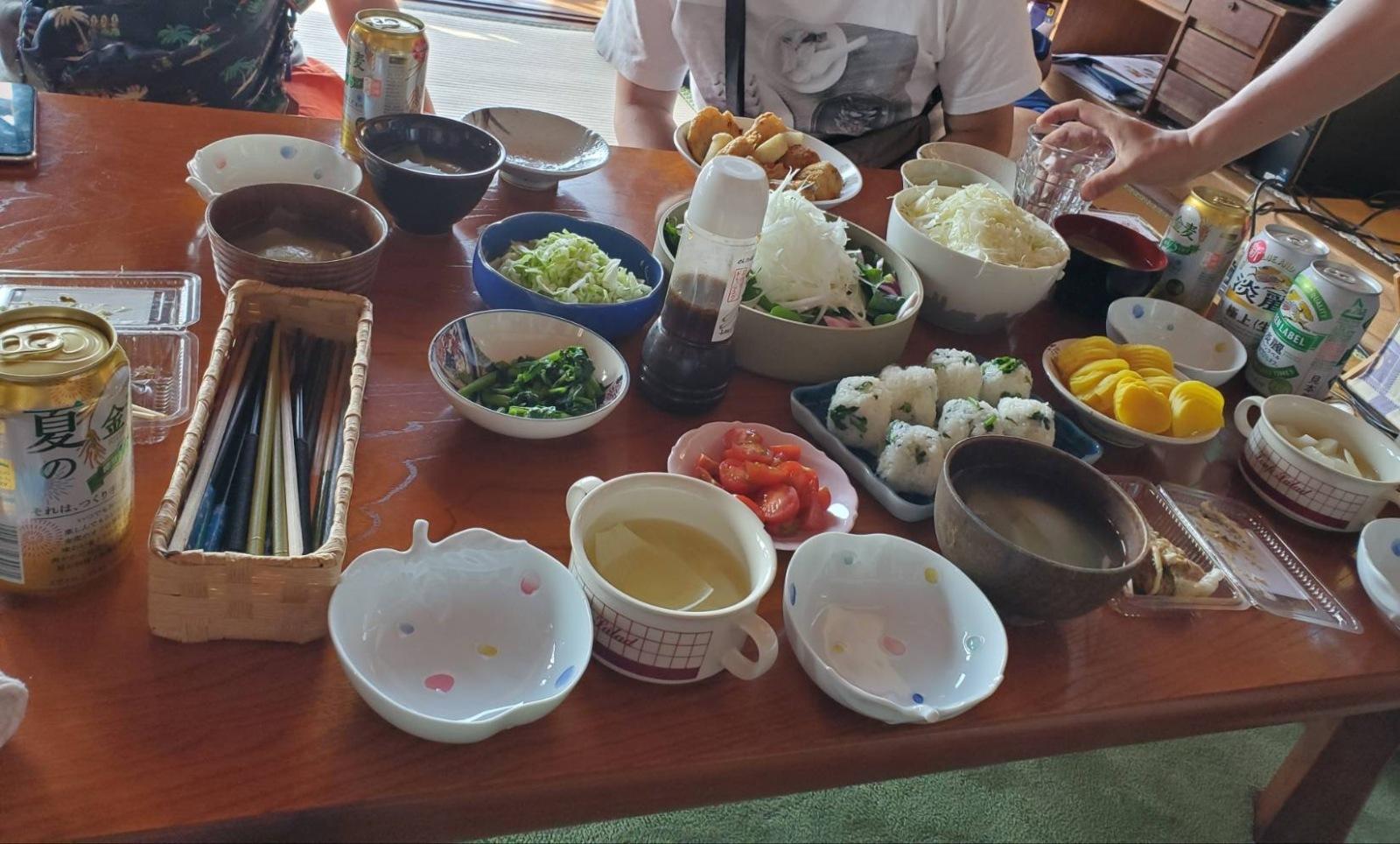 野菜を使った料理たち