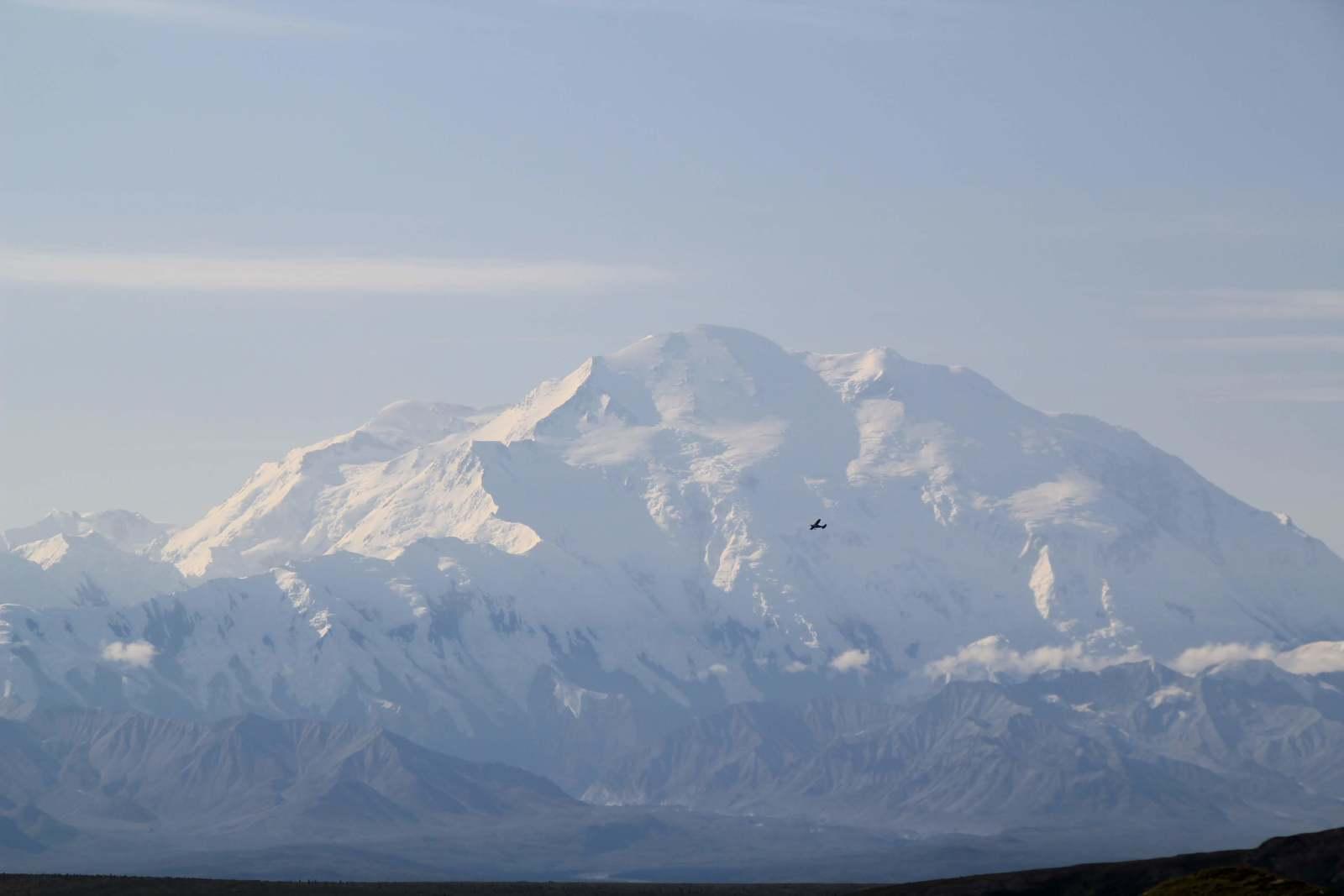 アラスカの雄大な自然の風景