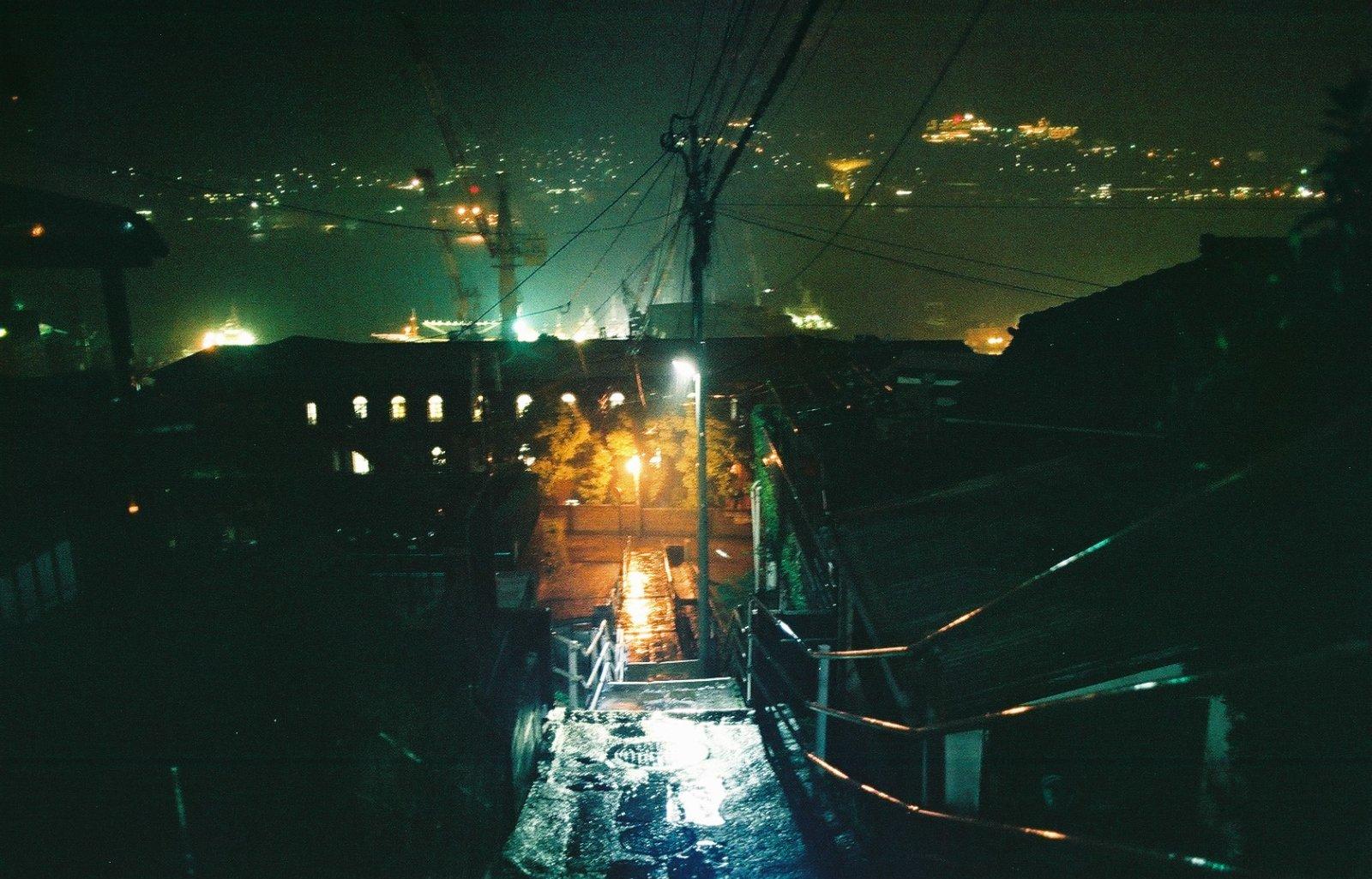 雨の日の長崎