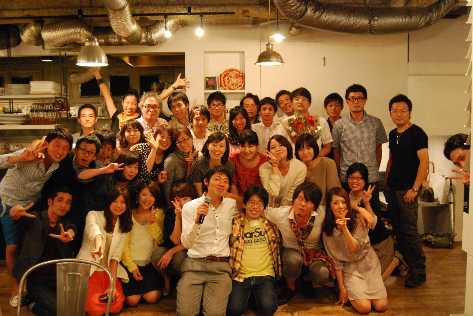東さんが活動をしていたNPO法人「福岡テンジン大学」での様子