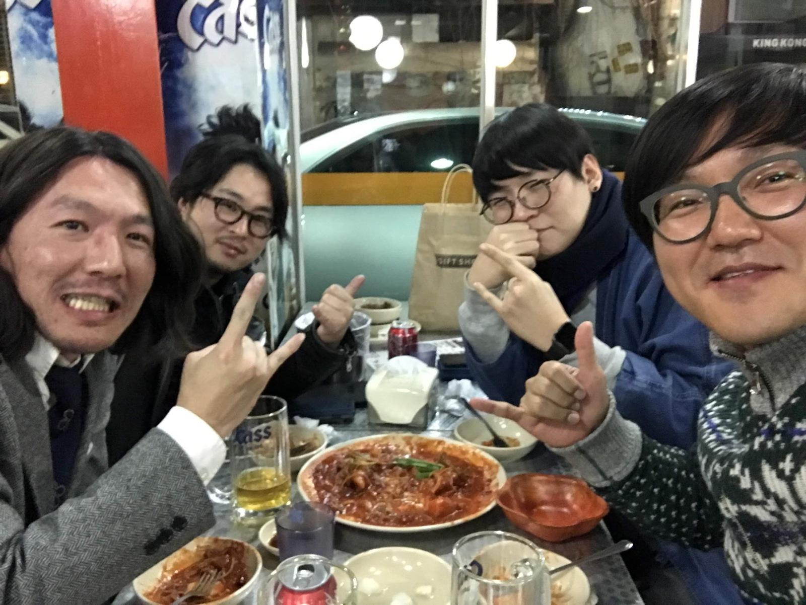 韓国に訪れた際の写真