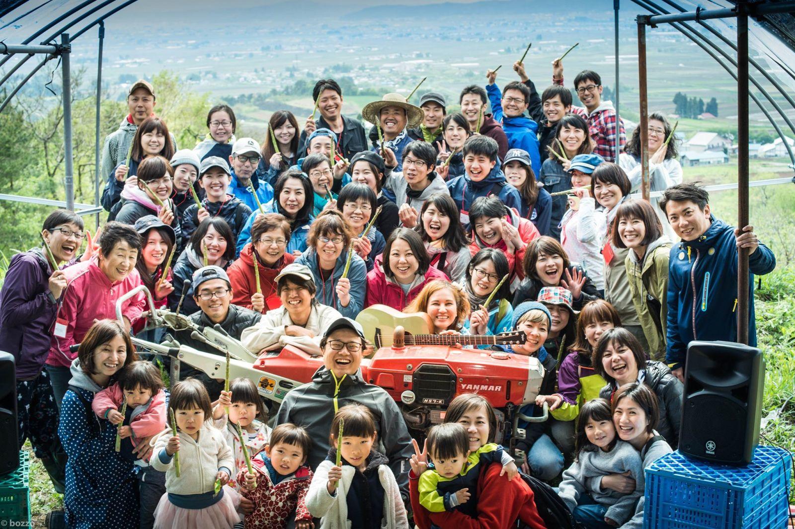 江川さんが開催したイベントでの写真