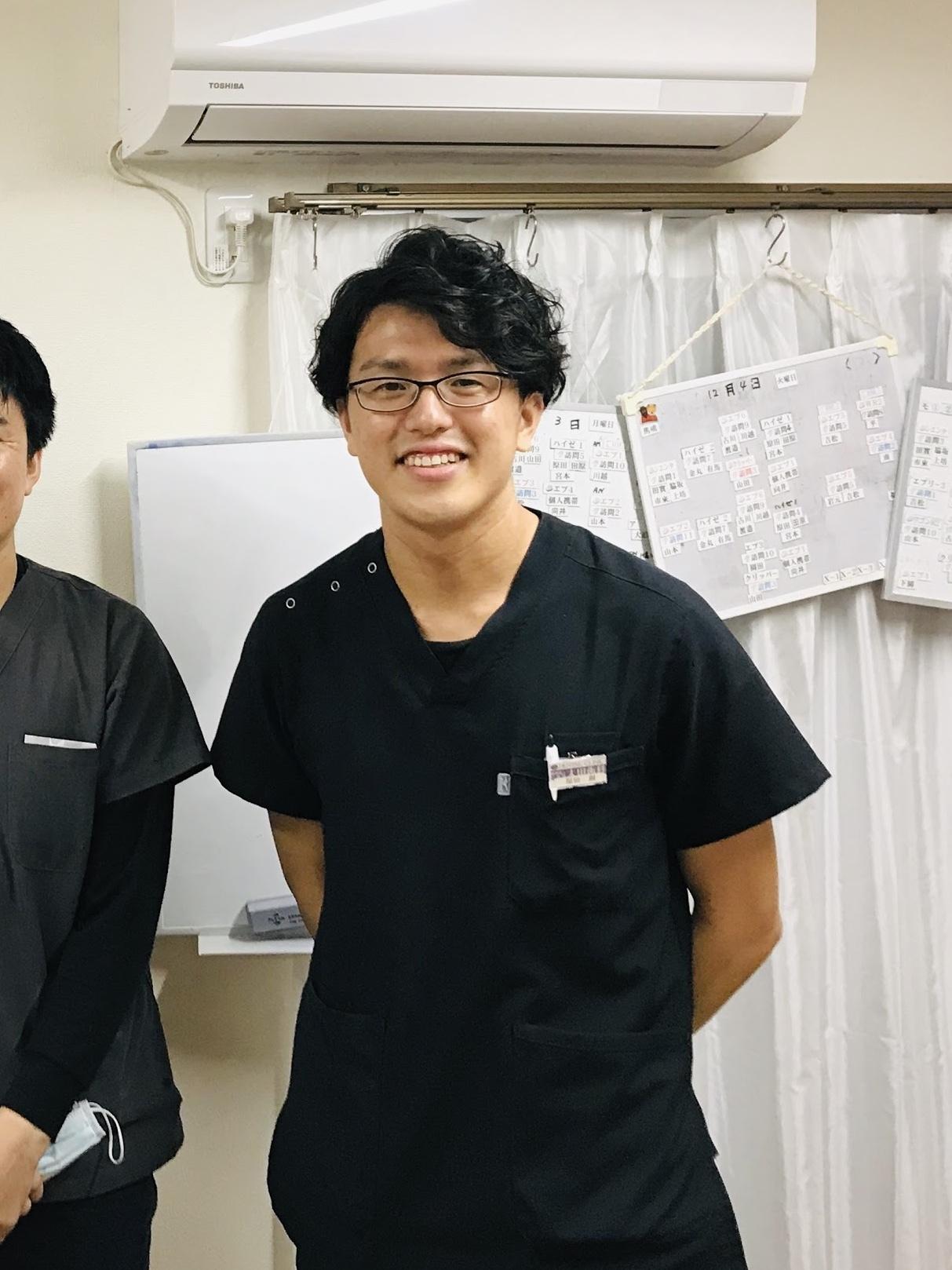 歯科医師としての原田さん