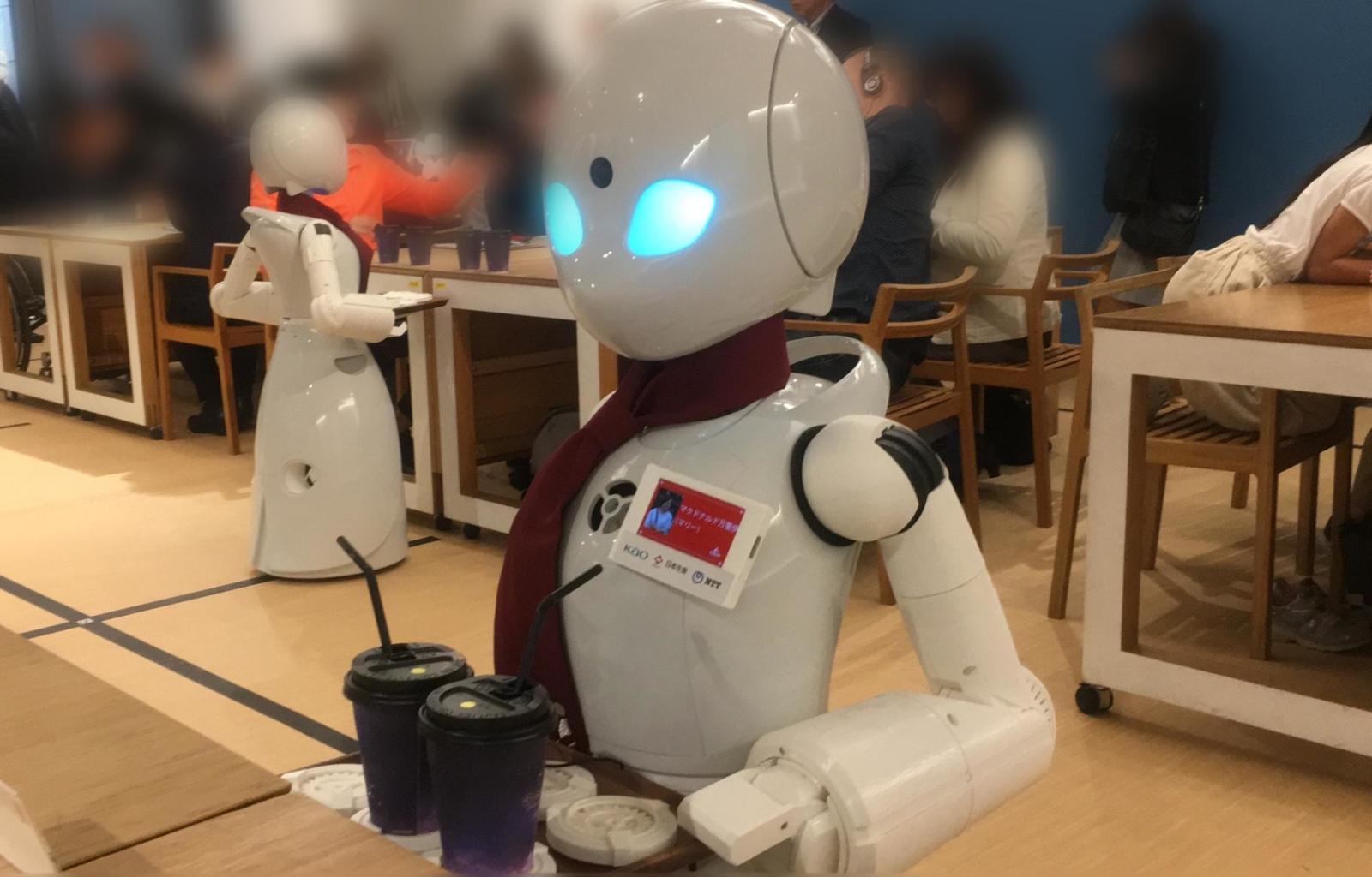 分身ロボットOriHime-D