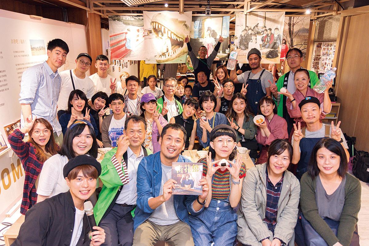 「青花魚展」での福井のお米と水でおにぎり作りのイベントは満員御礼。