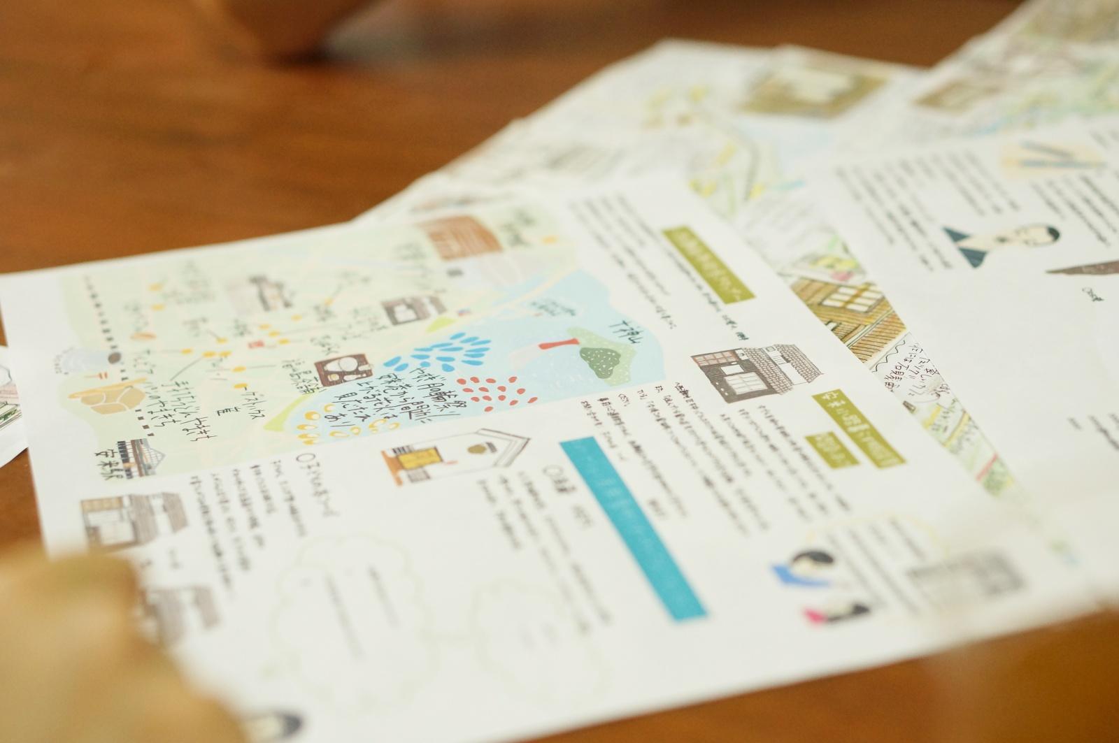 手書き地図(デジタル)