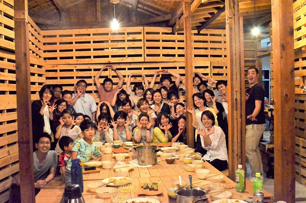 瀬戸内0円キッチンとのコラボで開催した「香川0円キッチン」イベント時の様子