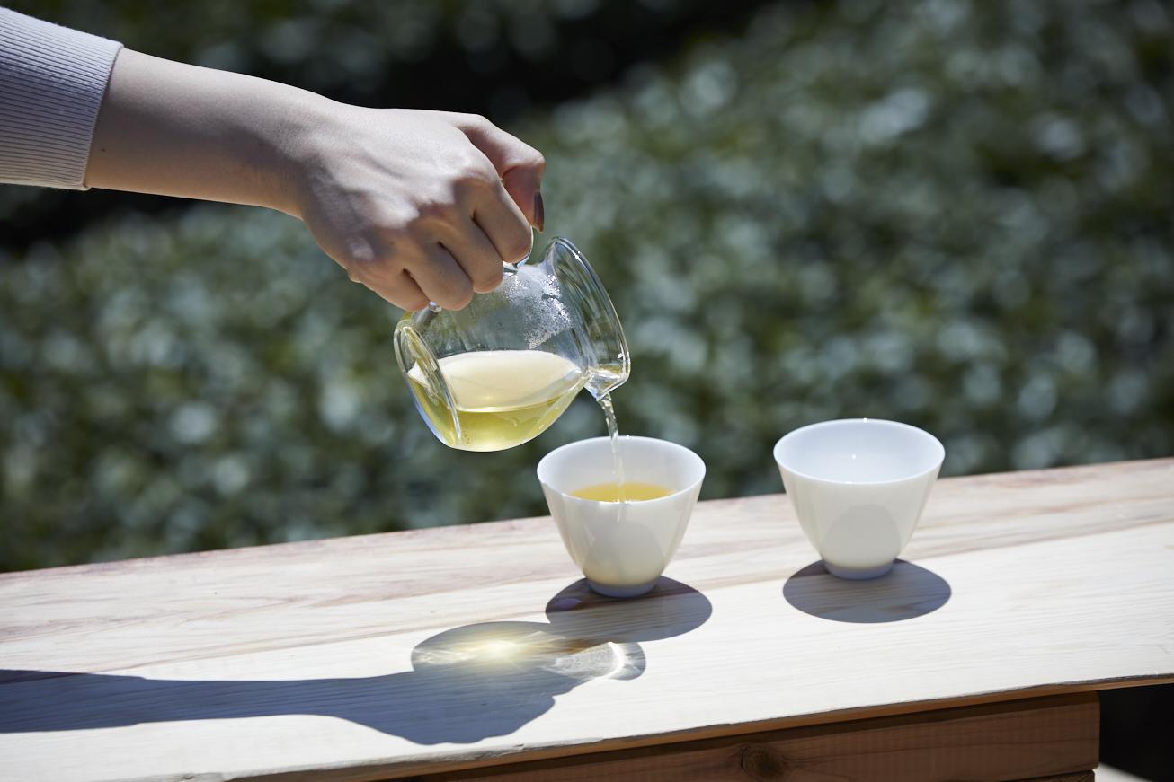 茶事変_緑茶