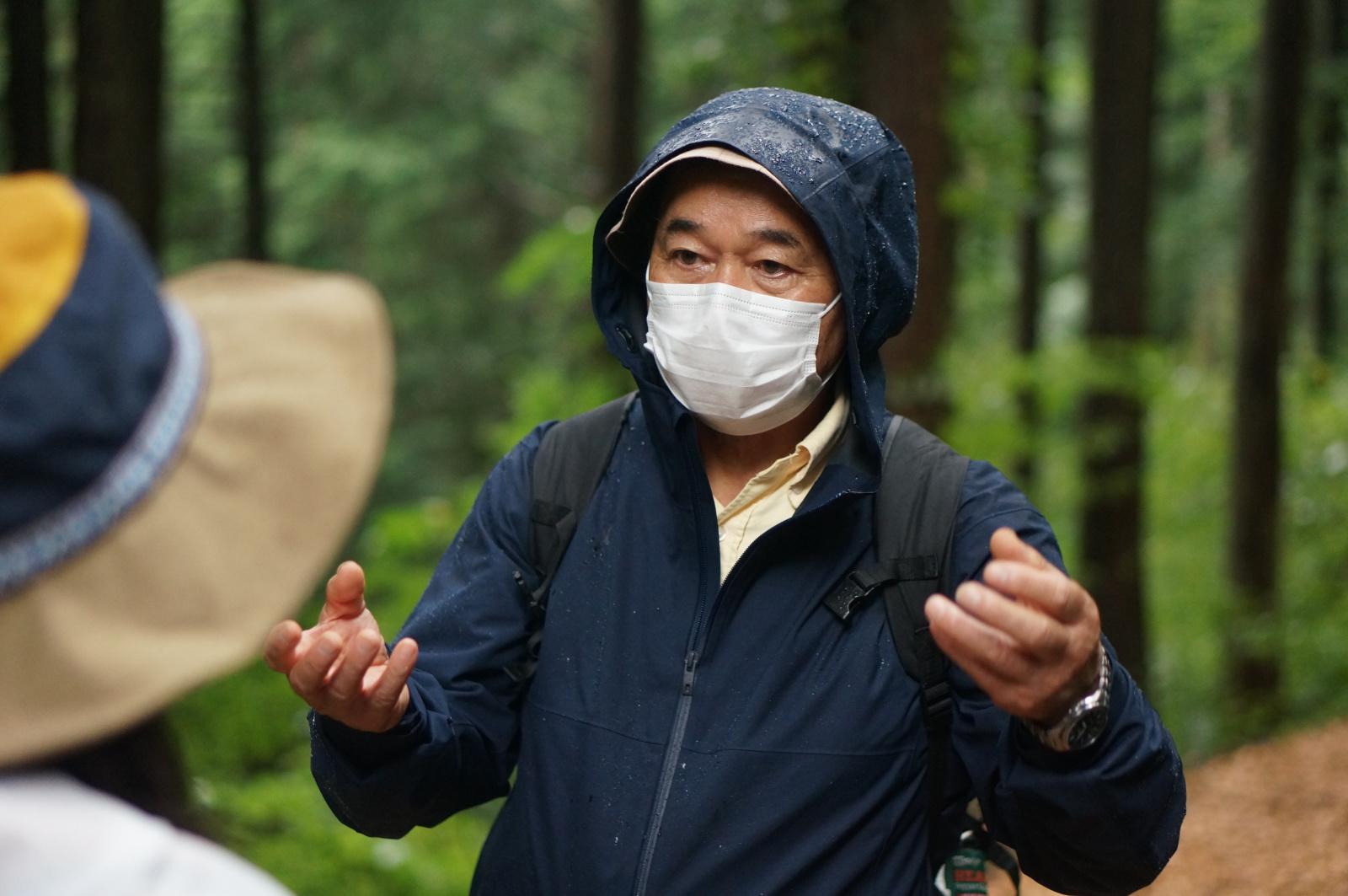 森林セラピー 塚本さん