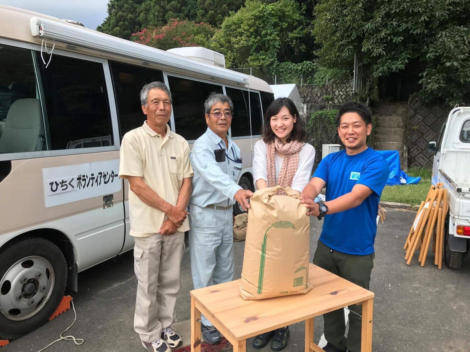 日田・大鶴での災害ボランティア