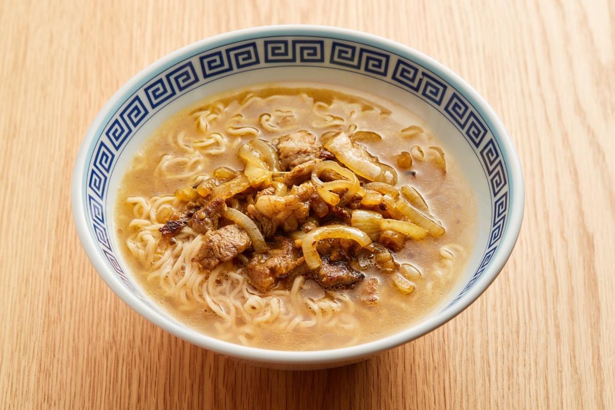米沢牛の加哩牛肉麵 1400円 (西岡シェフ)