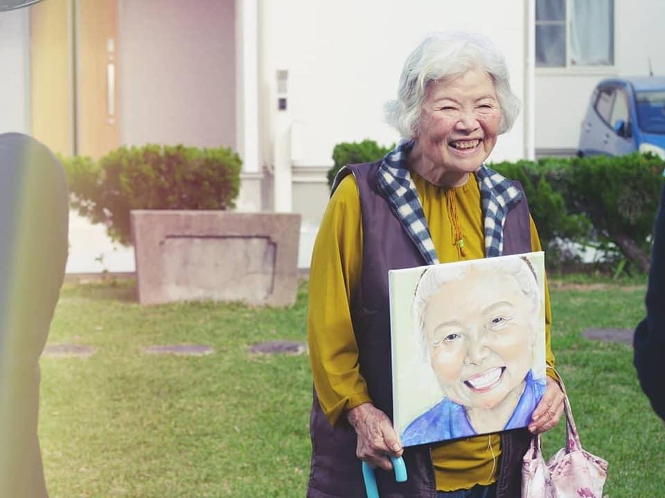 おばあちゃんと絵