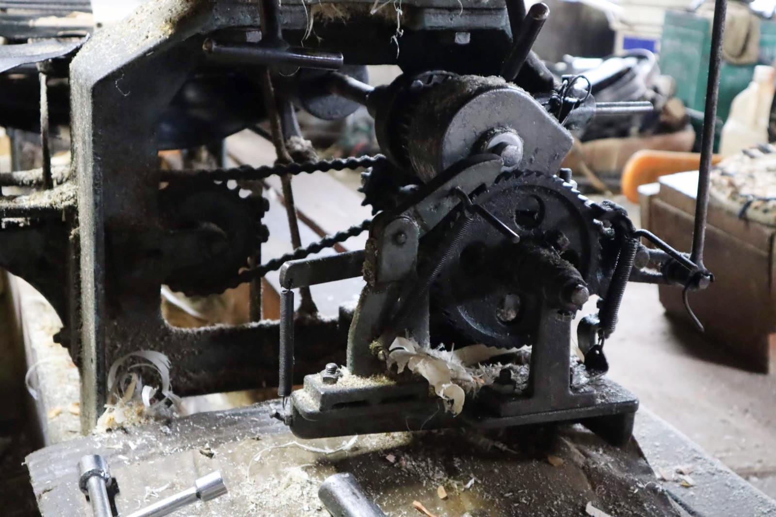 経木の機械