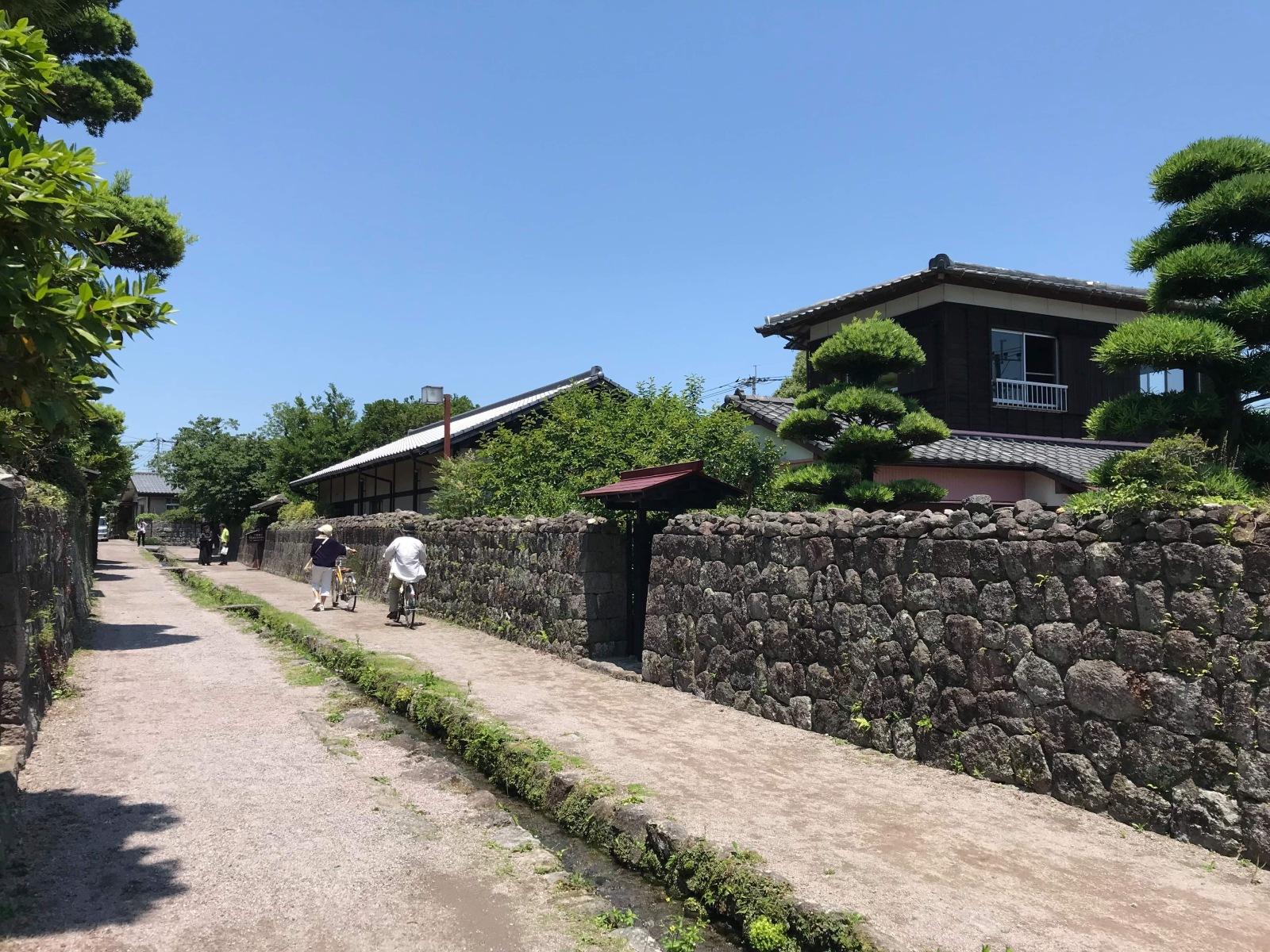 島原・武家屋敷の風景