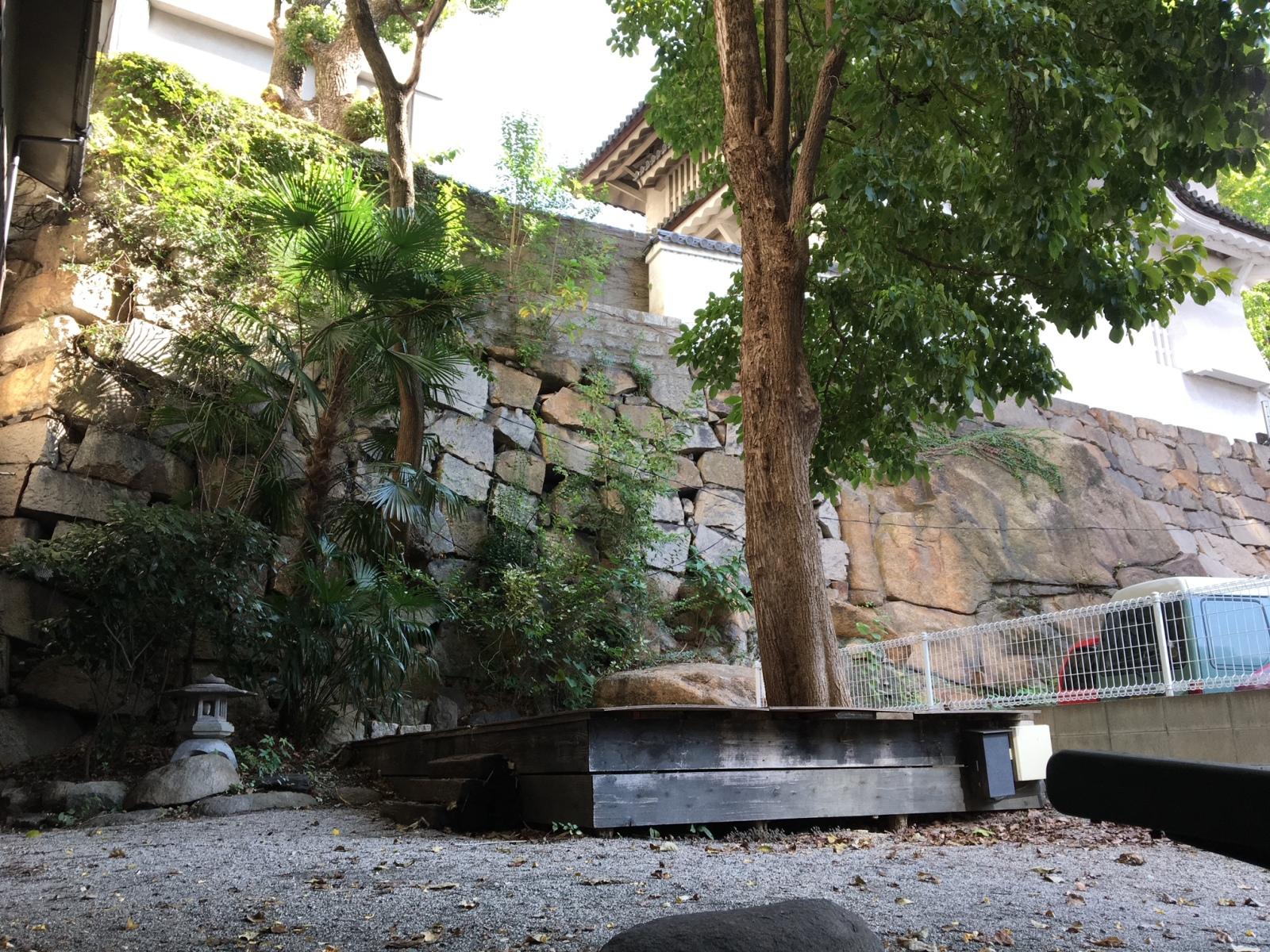 禁酒会館中庭