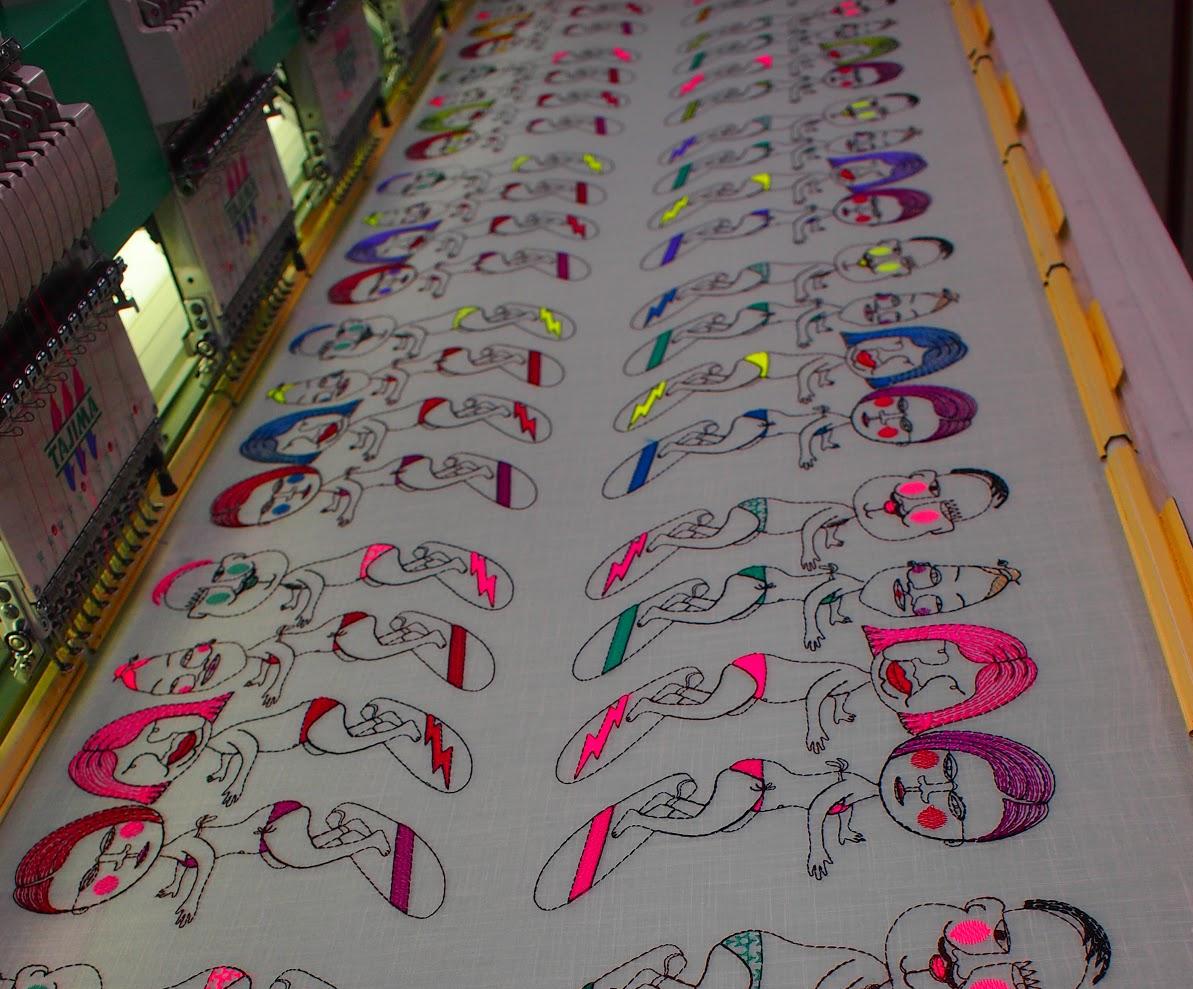 ULOCO刺繍機